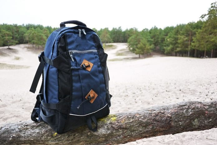 Backpacking backpack for hiking